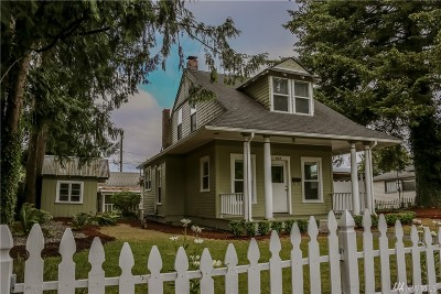 Centralia Single Family Home For Sale: 815 N Pearl St