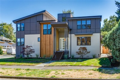 Seattle Single Family Home For Sale: 4725 SW Dawson St