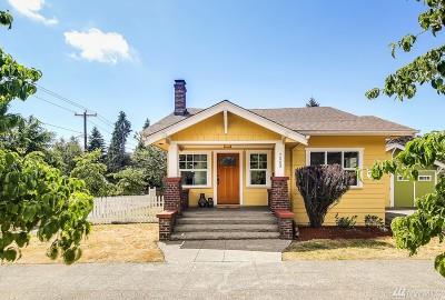 Seattle Single Family Home For Sale: 7503 3rd Ave NW