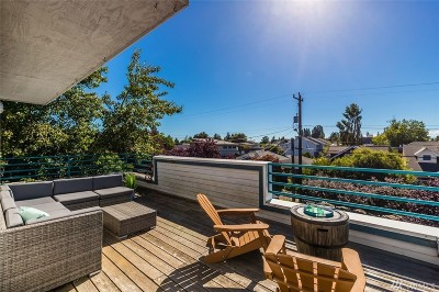 Seattle Condo/Townhouse Sold: 3010 61st Ave SW #A