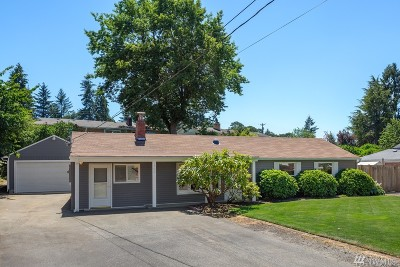 Lakewood Single Family Home For Sale: 7902 Leschi Rd SW