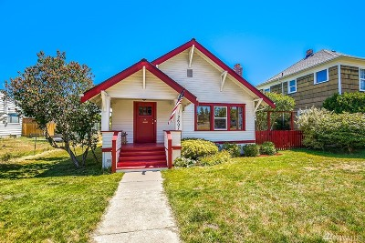 Everett Single Family Home For Sale: 2607 Pine St