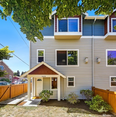 Seattle Single Family Home For Sale: 3459 California Ave SW