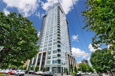 Seattle Condo/Townhouse Sold: 1321 Seneca St #1202