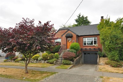 King County Single Family Home For Sale: 8209 Ashworth Ave N