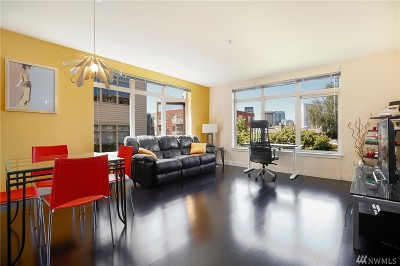 Seattle Condo/Townhouse For Sale: 1620 Belmont Ave #421