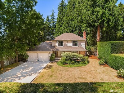 Bellevue Single Family Home For Sale: 12330 SE 14th St