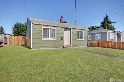 Tacoma Single Family Home For Sale: 815 S Oxford St