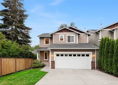Bothell Single Family Home For Sale: 21006 42nd Ave SE #A