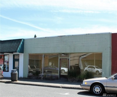 Shelton Commercial For Sale: 217 W Cota St