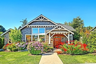 Edmonds Single Family Home For Sale: 631 Alder St