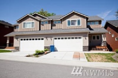 Wenatchee Single Family Home For Sale: 1504 N Western Ave #B