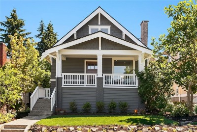 Seattle Single Family Home For Sale: 2524 1st Ave W