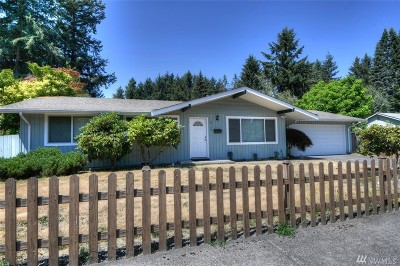 Tumwater Single Family Home For Sale: 6119 Esther St SW