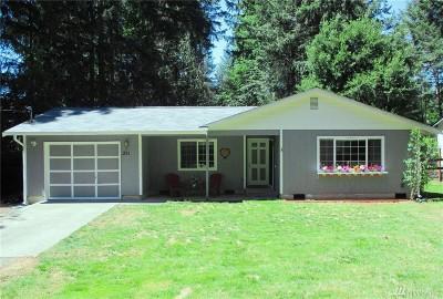 Mason County Single Family Home Pending Inspection: 251 E Herron Dr