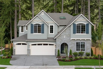 Sammamish Single Family Home For Sale: 2105 215th (Lot 1) Place SE