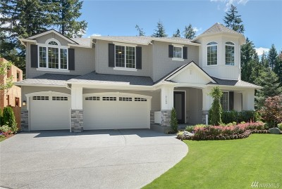 Sammamish Single Family Home For Sale: 2158 215th (Lot 4) Place SE
