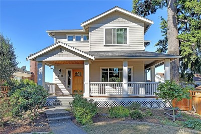 Seattle Single Family Home For Sale: 8425 41st Ave SW