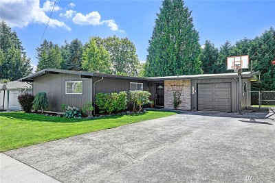 Federal Way Single Family Home For Sale: 31423 13th Ave SW