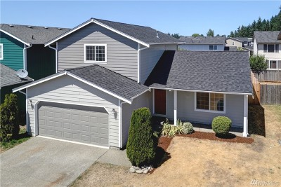 Spanaway Single Family Home For Sale: 1315 202nd St E