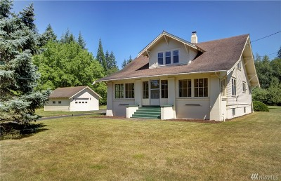 Bellingham Single Family Home For Sale: 3501 Mt. Baker Hwy