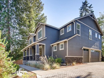 Bellevue Single Family Home For Sale: 2127 140th Place SE