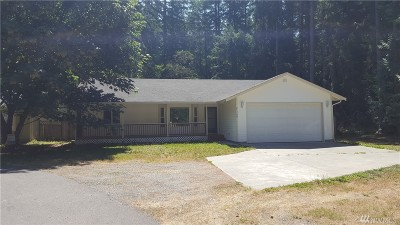 Thurston County Single Family Home For Sale: 21709 Beachside Dr SE