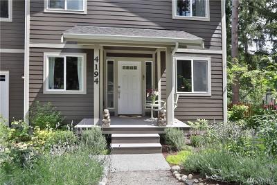 Clinton WA Single Family Home For Sale: $459,000