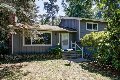 Bellingham WA Single Family Home For Sale: $475,000
