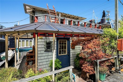 Seattle Single Family Home For Sale: 2025 Fairview Ave E #Q