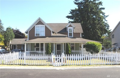 Snohomish Single Family Home For Sale: 211 7th St