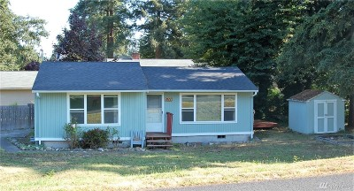 Spanaway Single Family Home For Sale: 611 S 165th St S