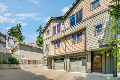 Seattle Single Family Home For Sale: 1217 NE 135th St #B
