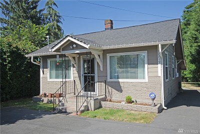 Burien Single Family Home For Sale: 12219 14th Ave S