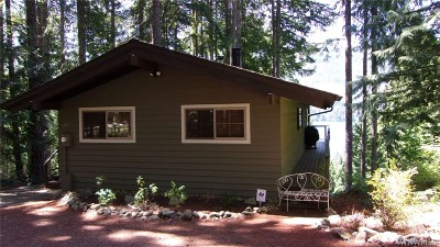 Mason County Single Family Home For Sale: 60 N Lookout Place