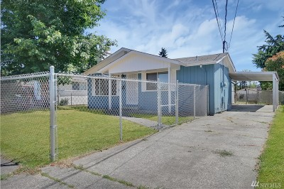 Tacoma Single Family Home For Sale: 7819 S Ainsworth Ave