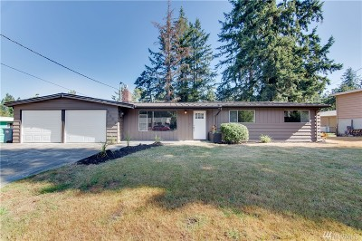 Tacoma Single Family Home For Sale: 8609 Forest Ave SW