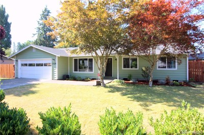 Tumwater Single Family Home For Sale: 1325 Arab Dr SE