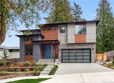Kirkland Single Family Home For Sale: 8738 126th Ave NE