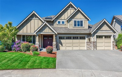Maple Valley Single Family Home Contingent: 27493 254 Place SE