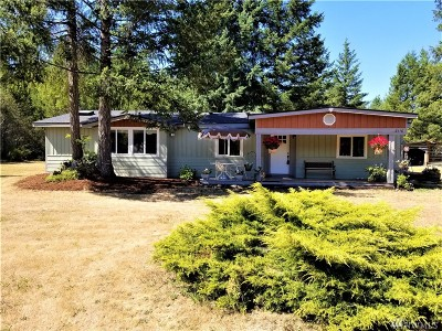 Shelton Single Family Home For Sale: 3110 W Martin Rd