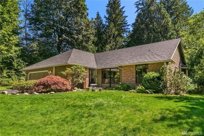 Woodinville Single Family Home For Sale: 20729 NE 156th St