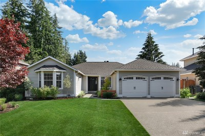 Issaquah Single Family Home For Sale: 24711 SE 45th Wy