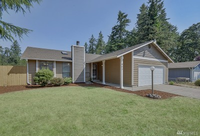 Spanaway Single Family Home For Sale: 407 189th St Ct E