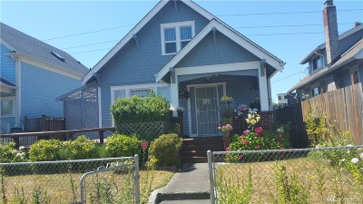 Tacoma Single Family Home For Sale: 1726 S M St