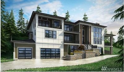 Bellevue WA Single Family Home For Sale: $3,688,000