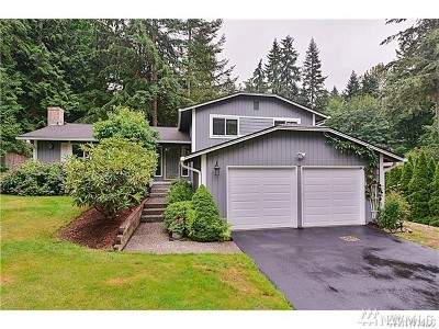 Woodinville Single Family Home For Sale: 17501 NE 160th St