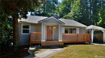 Kirkland Single Family Home For Sale: 11615 NE 155th St