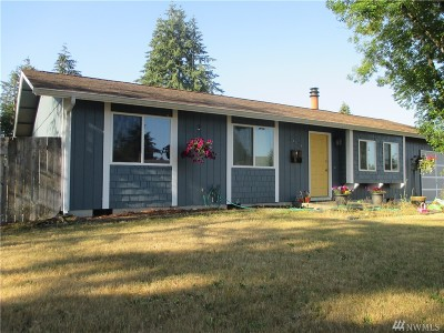 Thurston County Single Family Home For Sale: 18910 Crescent Dr SW