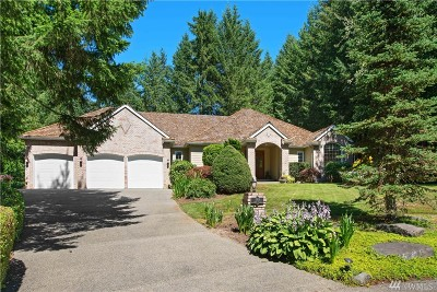 Gig Harbor Single Family Home For Sale: 4806 133rd St Ct NW
